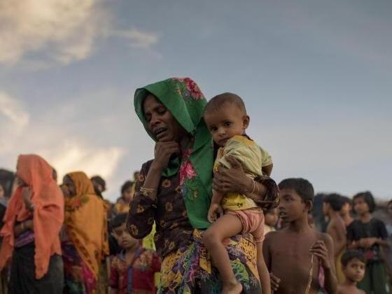 """Rohingya-Krise:Myanmar bestreitet """"ethnische Säuberung"""""""