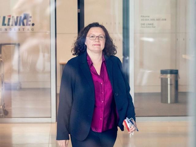 Andrea Nahles kündigt Rücktritt als SPD-Chefin an