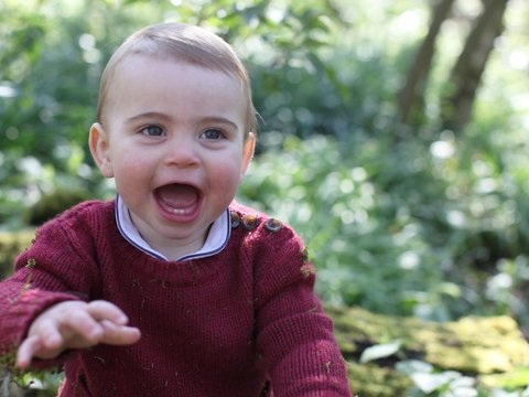Britische Royals: Prinz Louis feiert ersten Geburtstag