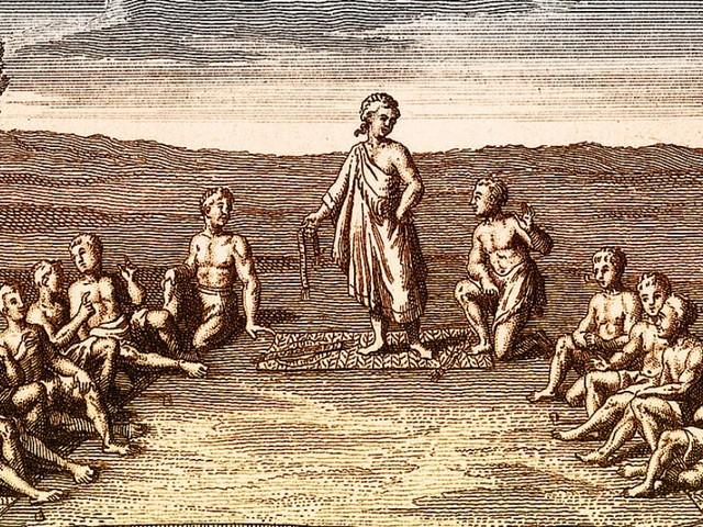 Auf dem Weg zu Mother Earth: Irokesen und der Westen