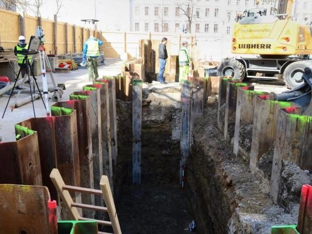 U-Bahn-Bau: Zu den Tunnelgräbern gesellen sich die Archäologen