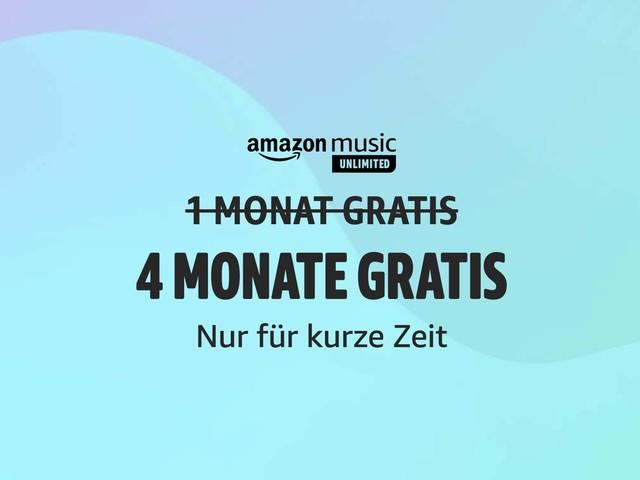 So bekommt ihr Amazon Music Unlimited bis zu 6 Monate kostenlos