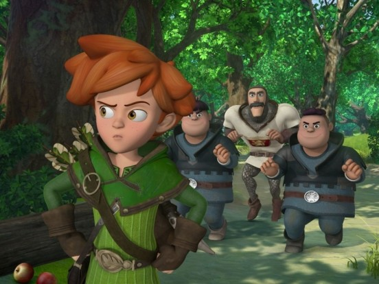 """""""Robin Hood - Schlitzohr von Sherwood"""" im Stream und TV: Wie geht es in Folge 34 der Animationsserie weiter?"""
