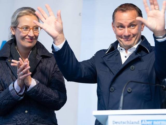 Weidel und Chrupalla im Wahlkampf: In Görlitz ist die Welt für die AfD noch in Ordnung