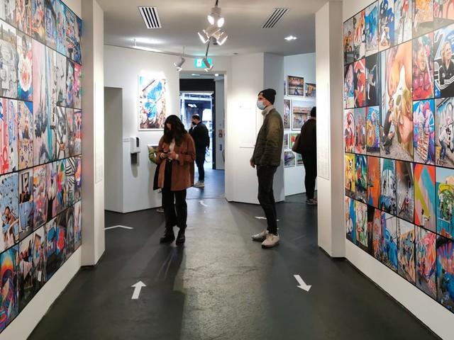 Zu Besuch in der 'Martha Cooper: Taking Pictures' Ausstellung im URBAN NATION Museum