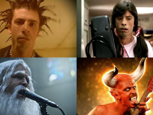 Dave Grohl: Seine 15 besten Musikvideos