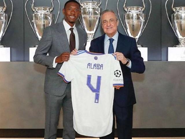 """Hola Todos"": David Alaba offiziell bei Real Madrid vorgestellt"