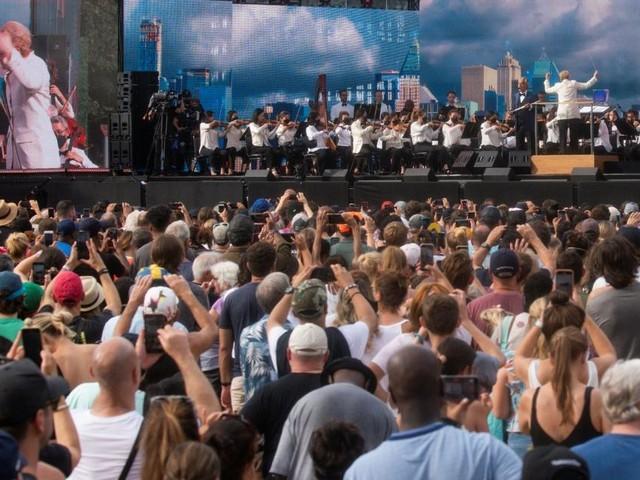 """Mega-Konzert """"We Love New York City"""" vorzeitig abgebrochen"""