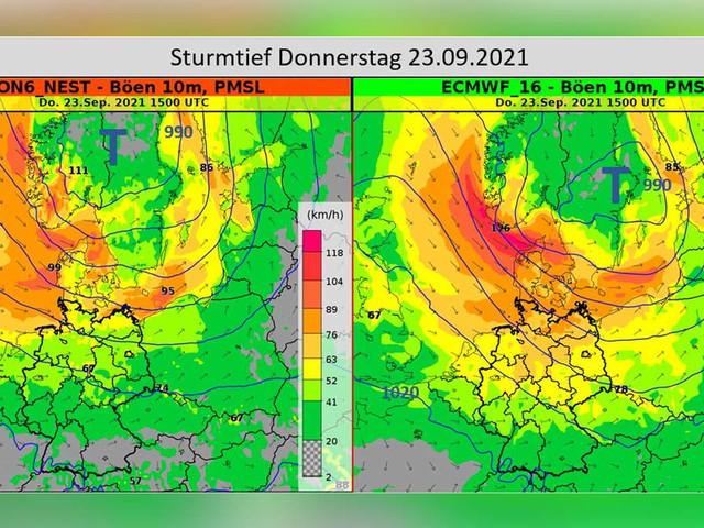 """""""Herbststurm trifft Deutschland"""" - Ex-Hurrikan funkt beim Spätsommerwetter dazwischen"""