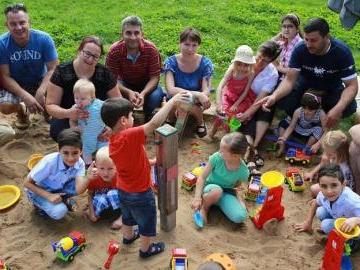 Spielsachen für den Sandkasten