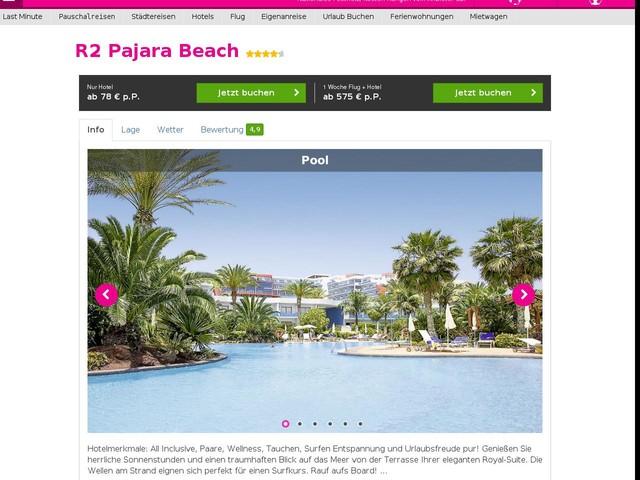 Pajara Beach Hotel Costa Calma Fuerteventura
