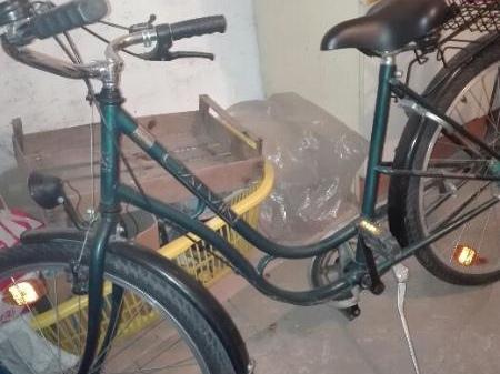 Fahrrad in Weißenfels Leißling