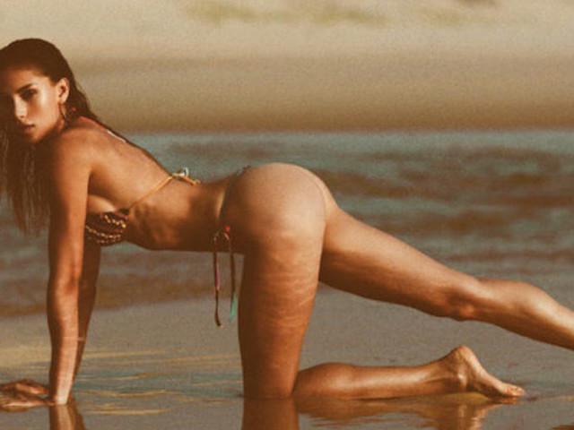 'Endless Summer' – Model Laya Rogier at Lion's Beach in Lacanau // France
