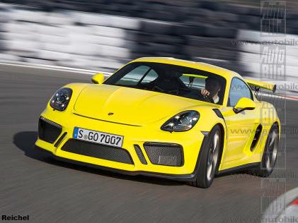 Porsche 718 Cayman GT4 Porsche arbeitet am neuen Cayman GT4