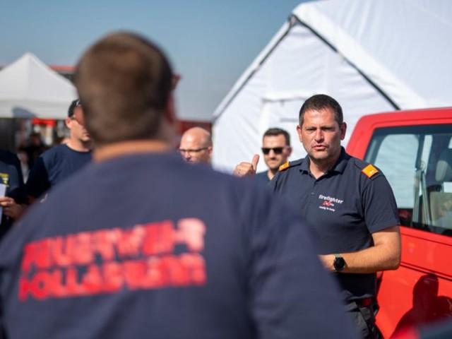 Waldbrände: Feuerwehrmann Roland Pachtner über den Hilfseinsatz in Mazedonien