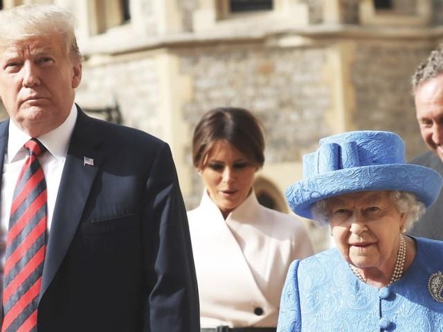 Staatsbesuch: Trump trifft die Queen noch einmal