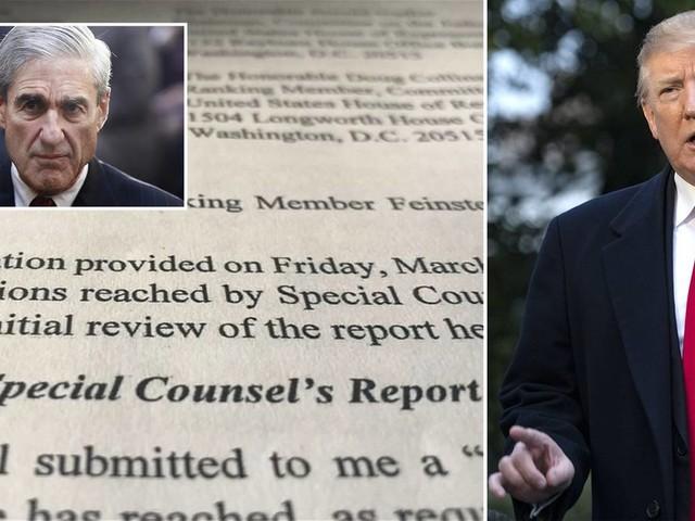 Trump entlastet?: Mueller-Bericht: Keine wissentliche Verschwörung mit Russland