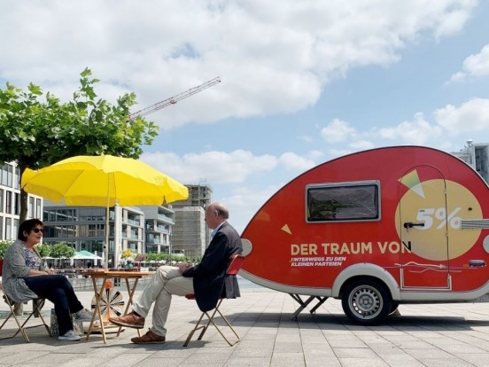 """""""Der Traum von fünf Prozent"""" bei ZDF nochmal sehen: Wiederholung der Dokumentation im TV und online"""