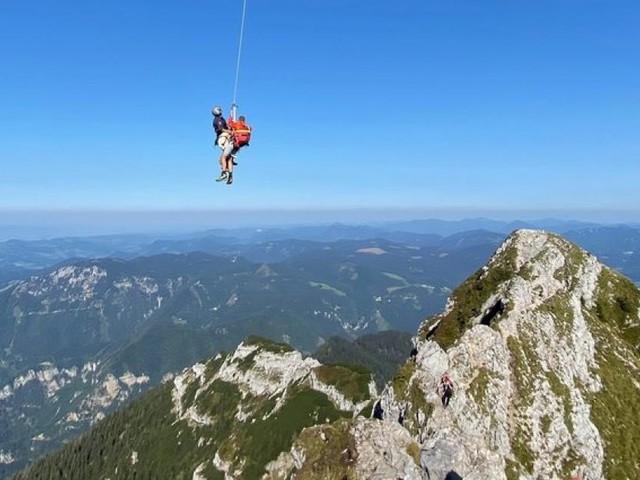 Ötscher: Zwei Wiener mussten vom Berg gerettet werden