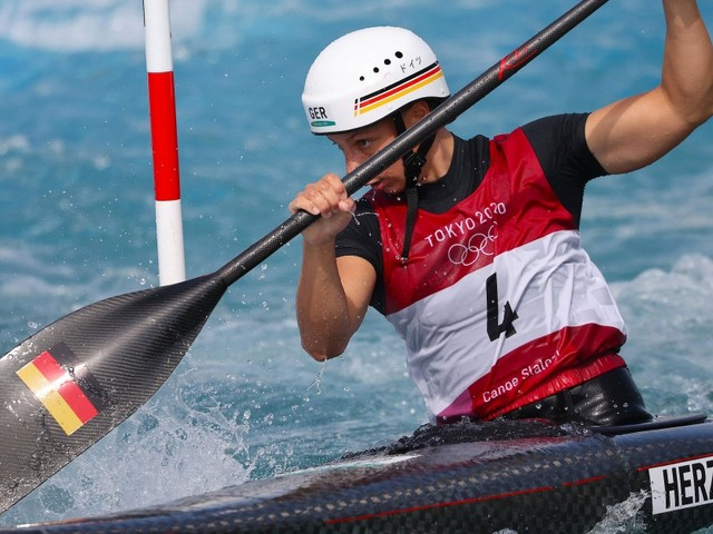 Kanuslalom bei Olympia: Andrea Herzog gewinnt Medaille im Canadier