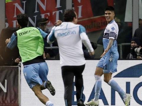 Fußball Italien: Correa schießt Lazio gegen Milan ins Pokal-Finale