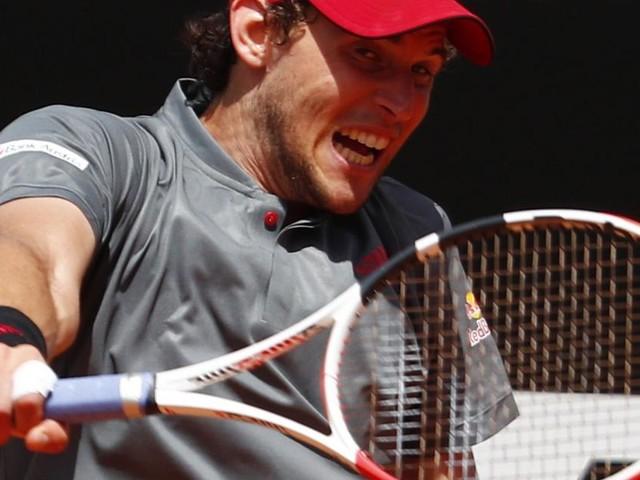 Tennis-Star Thiem: Mit großem Kampfgeist ins Achtelfinale von Rom