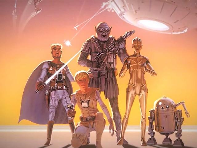 Fanfilm basierend auf den originalen Star Wars-Concept Arts