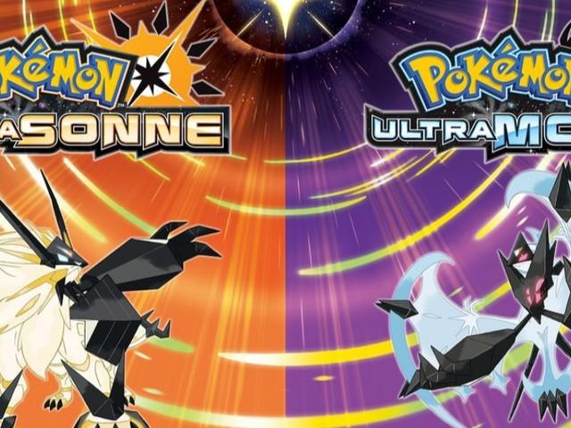 Pokémon Ultrasonne und Pokémon Ultramond veröffentlicht