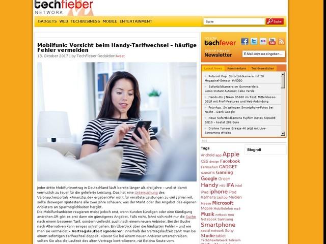 Mobilfunk: Vorsicht beim Handy-Tarifwechsel – häufige Fehler vermeiden