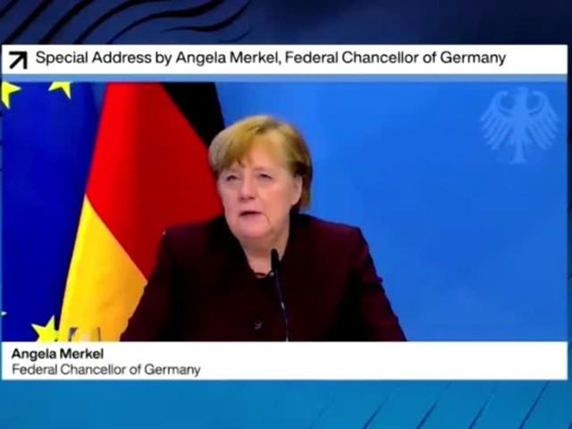 Video: Merkel: Nur gemeinsam aus der Krise
