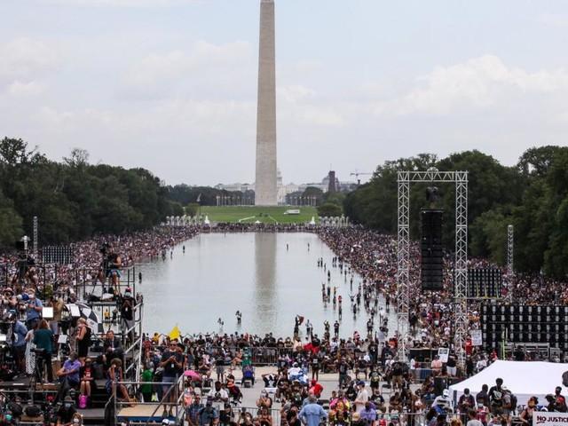 """Protest gegen Rassismus in Washington: """"Genug ist genug"""""""