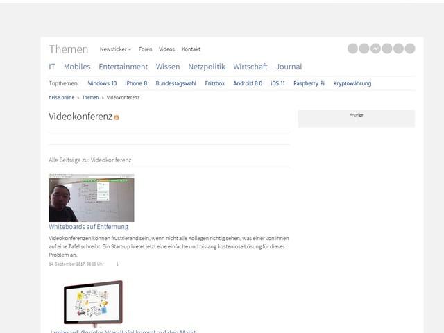 Videokonferenz | heise online