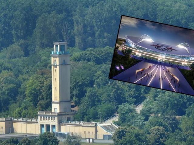 Treppe am Glockenturm saniert – RB Leipzig treibt Bauarbeiten voran