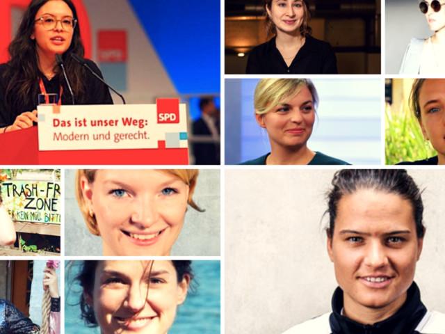 Diese 10 jungen Frauen werden Deutschland 2019 verändern