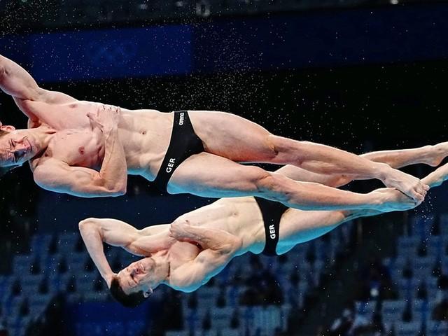 Schwimmen: Wasserspringen: Hausding und Rüdiger gewinnen Olympia-Bronze