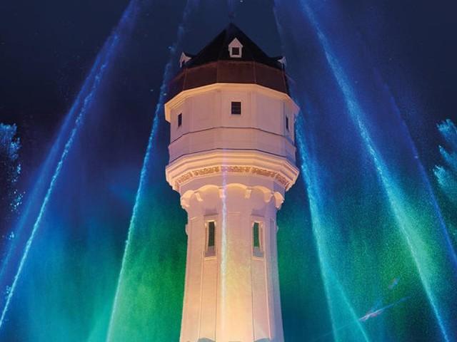 Aquaphonix: Wasser-, Laser- und Musik-Show in Wr. Neustadt