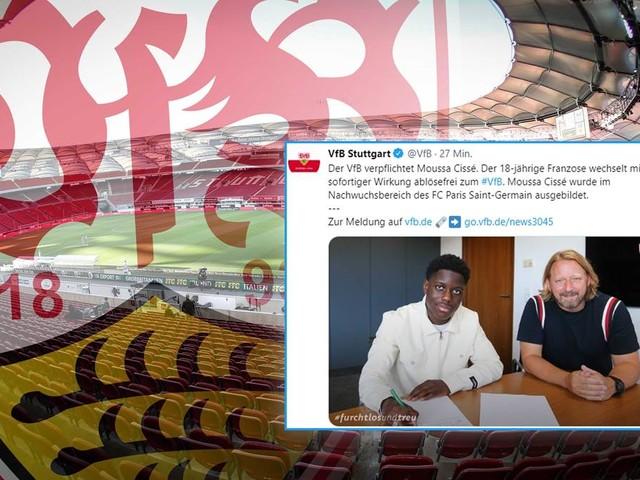 Transfer perfekt: Stuttgart verpflichtet PSG-Talent Moussa Cissé – Vertrag bis 2025