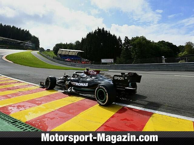 Formel 1 Spa, 1. Training: Bottas vor Verstappen