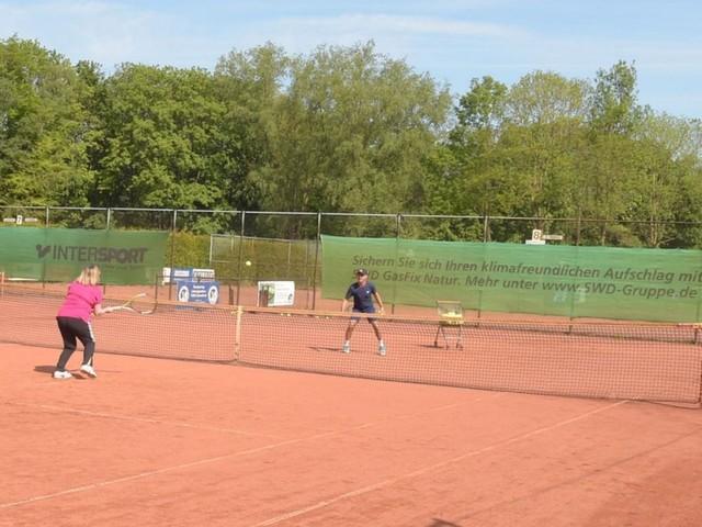 Tennis-Vereinspokal mit Mannschaften aus Delmenhorst und Bookholzberg