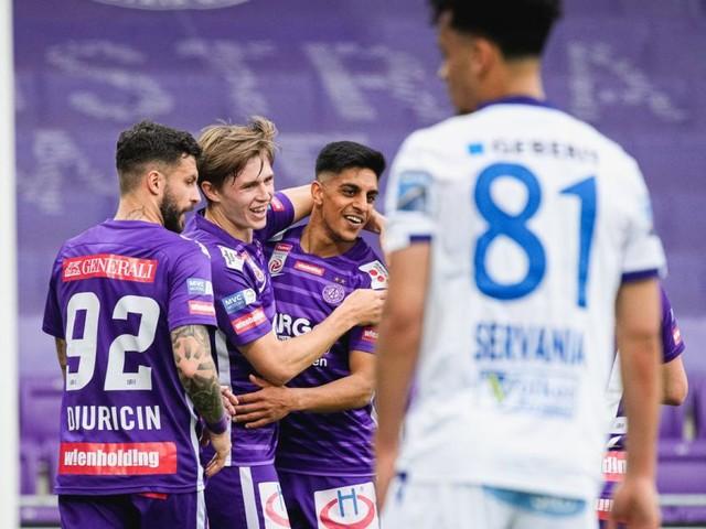 Austria sichert sich das Play-off-Ticket, St. Pölten fix Letzter