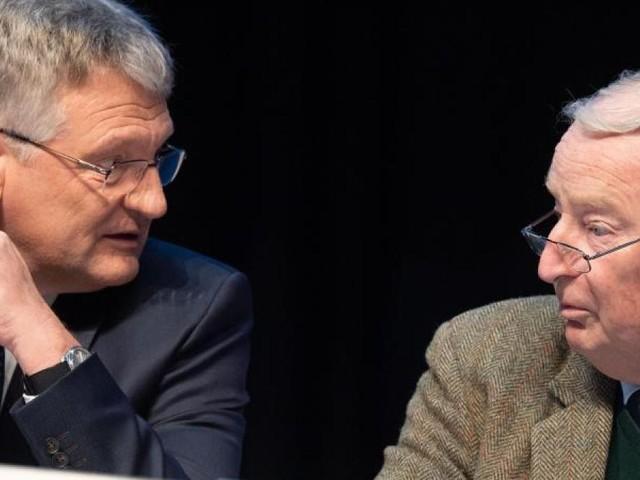 AfD verliert an Zustimmung aufgrund interner Querelen
