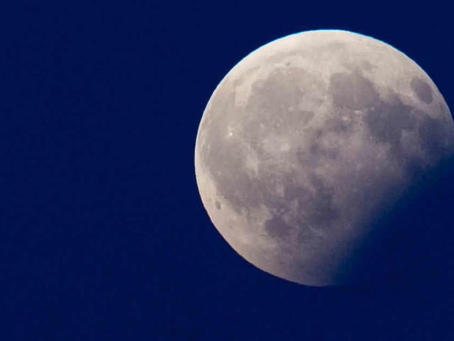 Partielle Mondfinsternis: Heute Nacht verfinstert sich der Vollmond