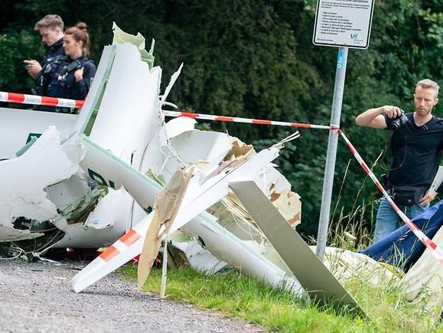 Unglück über Waldgebiet bei Dülmen: Zwei Tote bei Absturz zweier Segelflieger
