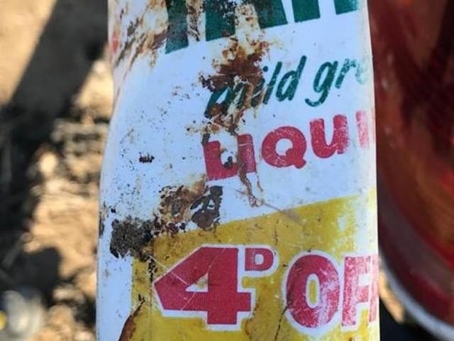 47 Jahre alte Flasche: Foto zeigt Ausmaß des Plastikmüllproblems