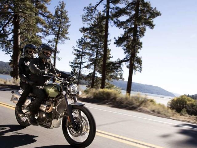 Tradition und Moderne: Unterwegs mit der Triumph Scrambler 1200 XC