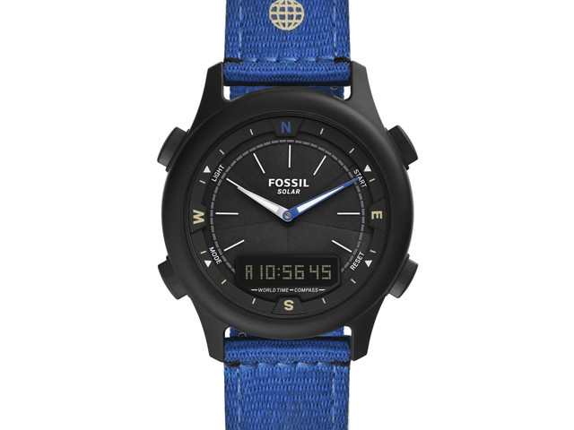 EARTH DAY 2021: Neue Fossil LE Solar Watch #Greentech