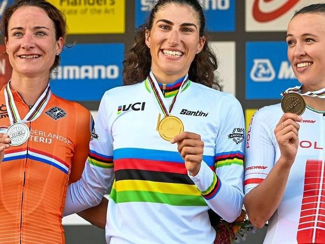 Italienerin Balsamo wie Olympiasiegerin Kiesenhofer als Außenseiterin zu WM-Gold