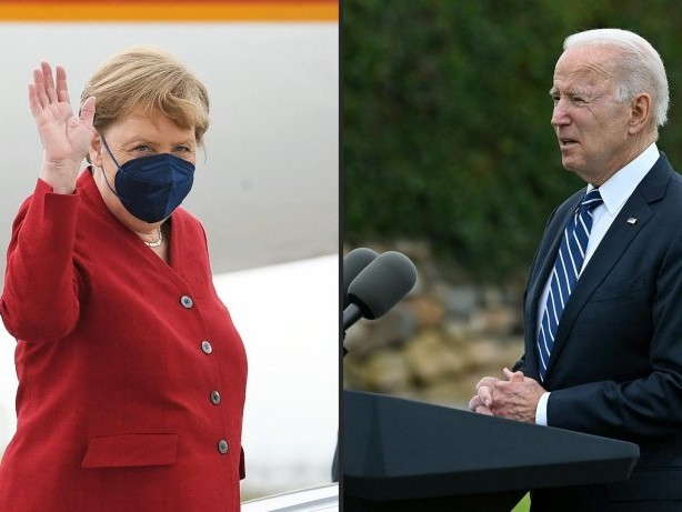 Biden empfängt Merkel im Juli im Weißen Haus