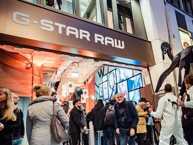 G-Star eröffnet Flagship auf der Zeil
