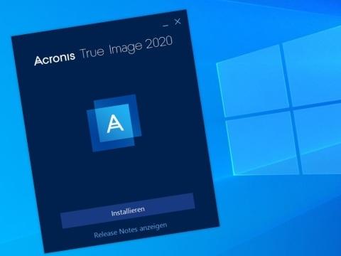 Backup-Testsieger Acronis True Image 2020: Neue Funktion rettet Ihre Daten auch im Notfall